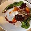 ジャクソンホールのゴルフ場で最初の夕食…  充実した食事をとることができました。