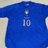 ユニフォーム その276 イタリア代表 2004年 ホーム用 半袖 ロベルトバッジョ 現役引退記念 非売品