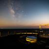 【天体撮影記 第108夜】 長崎県 崎戸島 不知夜月の夜に北緯33度線展望台から夏の天の川を