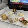 カタール航空 B787 ビジネスクラス 〈QR131 ドーハ=ローマ〉