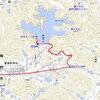 姫路市の神谷ダムへサイクリング