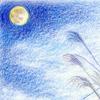 封筒「うさぎ(十五夜お月さん)」