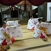 2月の巫女舞練習日
