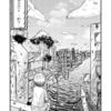【漫画制作】廃墟の世界で釣りをする少年