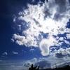 今、雲が綺麗でした!