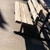 お気に入りのベンチ!!!