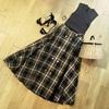 【秋モノ購入品 ① 】チェックのミモレ丈スカート【30代ファッション】