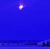 大きな月の輝く朝 2017.12.04