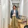 スーをさしあげたい平井さんと梅田で試着試着のショッピング同行