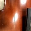 コントラバスの表板割れ修理について【少し古めのカールヘフナー|オープン有】