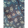 着物生地(312)ツバメに花菱・絣模様織り出し手織り真綿紬
