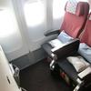 1歳子連れのバリ&SIN旅行 搭乗記 JAL SIN⇒成田 JL712 B772 エコノミー