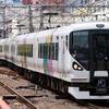 4/16 E257系M-102編成臨時回送(松本→東大宮?)