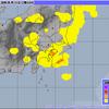 東京では雷がゴロゴロ・落雷の影響で踏切システムがダウン!!夕方くらいまでは雷雨に警戒!!