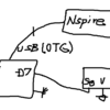 TI-Nspire & Arduino、超音波距離計 2、シリアルポートを使って TI-Nspire の画面に距離を表示する