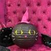 黒猫さんの耳制作!!笑