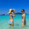 女子旅プーケットの定番、ピピ島&シミラン諸島バンブー島へ行こう!