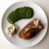 【今日の朝食】バゲッド アボカド ポテトサラダ