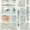 中日新聞(本版)健康面に『良性発作性頭位めまい症』に関する取材記事が掲載されました