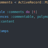 Rails でポリモーフィック関連を使ってみる