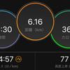 ジョギング6.16km・大阪マラソン前々夜