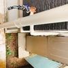 水道の増設完了!快適なガーデニング生活がおくれるようになりました。給湯器から水道の蛇口を増設☆