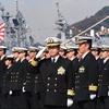 遠洋練習航海部隊の鹿島立ち