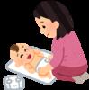 オムツ替えと沐浴の手順メモ