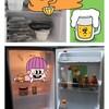 12月[ミニマリスト]冷蔵庫とダイニング