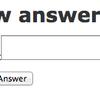 #4 回答機能の作成