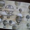 セピアな気球ページ完成☆アリスの不思議かわいい物語より