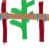 支柱の紐の結び方