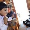 3歳が国境を超える連絡船を運転。一日「キャプテン」体験。(メイス島・ギリシャ/トルコ