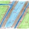 土木小ネタ:【端点】平面図と端点標高で地形をイメージできるようになれ。