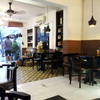 バーディン区ダオタン通りのお粥専門店「An Nam Chao」のトロトロ鶏モモ粥
