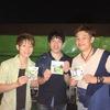 沖縄オリオンビールビアガーデン、勝詩×ばっしらいん対バンライブ終了!