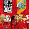 《大きな赤い室内》  アンリ・マティス