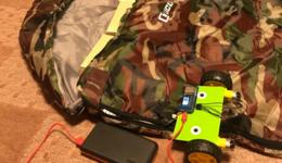 おうちキャンプでIoT! 温度に応じて「寝袋自動開閉」に挑戦──チャック開閉システムを自作:IoTおうちハック