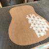 D-18タイプ・アコースティックギター製作その2~表板と裏板の厚み~