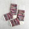 フリーソックで編む つま先のない靴下(4) 完成!
