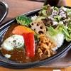 野田市清水の「Cafe アゼリア」で野菜たっぷりカレーライスなど