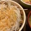 すき家の「和風オニサラ牛丼」を食べました
