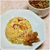 自家製チャーシューで作る五目炒飯|半端野菜どっさりスープ添え