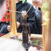 浅草寺の花まつり。4月8日はお釈迦様のお誕生日。仏生会。