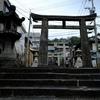 諏訪神社の福沢諭吉像@龍馬をゆく2017
