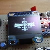 小さなゲーム機 Arduboyの自作🍇 その4.はんだごてを手に、パーツを基板に実装します🍊