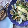 【和食 簡単 魚料理】フライパン一つで、銀サケのマヨチーズ焼きとホンビノス貝の酒蒸し