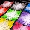 【折り紙展示レポ】館長さんのあじさい折り「花折りピラミッド」が美しすぎる!
