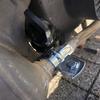 ホンダ ジョルノ 折れたマフラーを補修する