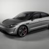 ソニー VISION-Sセダン 価格は1000万円超のセダンに。0-100km/h加速は2.8秒。電池容量や航続距離は未発表。テスラ・モデルSと比較!
